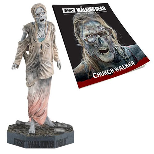 The Walking Dead Church Walker Figure with Magazine #24 - Official Eaglemoss Publications :: Mental XS Online