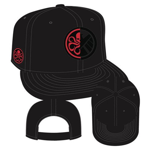 Marvel Comics Agents of SHIELD and Hydra Side Snap Back Hat - PX - Official Elephant Gun :: Mental XS Online