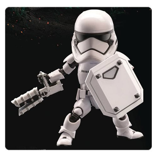 Star Wars Episode VII: The Force Awakens Riot-Control Stormtrooper Egg Attack Figure - Official Beast Kingdom :: Mental XS Online