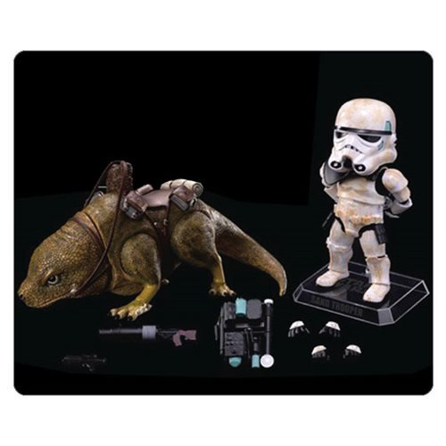 Star Wars Episode IV: A New Hope Dewback and Sandtrooper Egg Attack Figure - Official Beast Kingdom :: Mental XS Online
