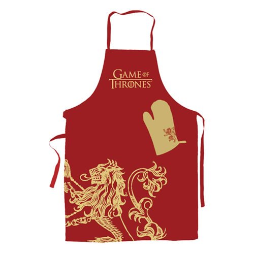 Game of Thrones Lannister Apron and Oven Mitt Set - Official Sd Toys :: Mental XS Online