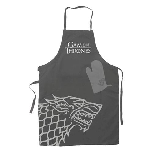Game of Thrones Stark Apron and Oven Mitt Set - Official Sd Toys :: Mental XS Online