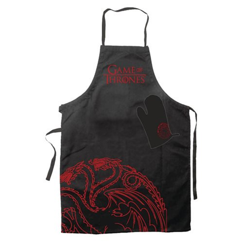 Game of Thrones Targaryen Apron and Oven Mitt Set - Official Sd Toys :: Mental XS Online