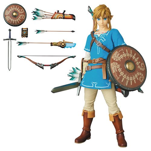Legend of Zelda: Breath of the Wild Link Real Action Hero Figure - Official Medicom :: Mental XS Online