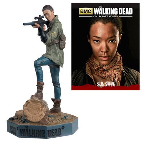 The Walking Dead Sasha Figure with Collector Magazine #10 - Official Eaglemoss Publications :: Mental XS Online