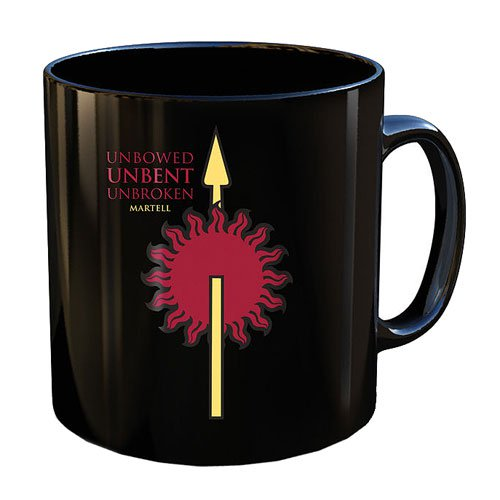 Game of Thrones Martell Mug - Official Dark Horse :: Mental XS Online
