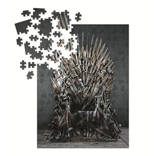 Game of Thrones Iron Throne 1000 Piece Puzzle - Official Dark Horse :: Mental XS Online