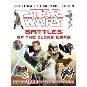 Star Wars: Battles of the Clone Wars Ultimate Sticker Book - Official Dk Publishing :: Mental XS Online