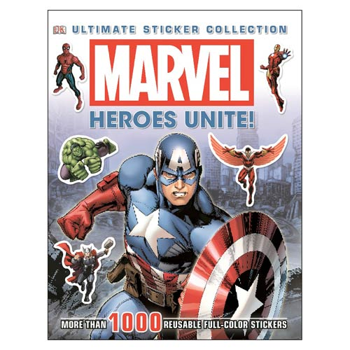 Marvel Heroes Unite! Ultimate Sticker Collection Book - Official Dk Publishing :: Mental XS Online