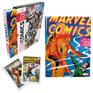 Marvel Comics 75 Years of Cover Art Hardcover Book - Official Dk Publishing :: Mental XS Online