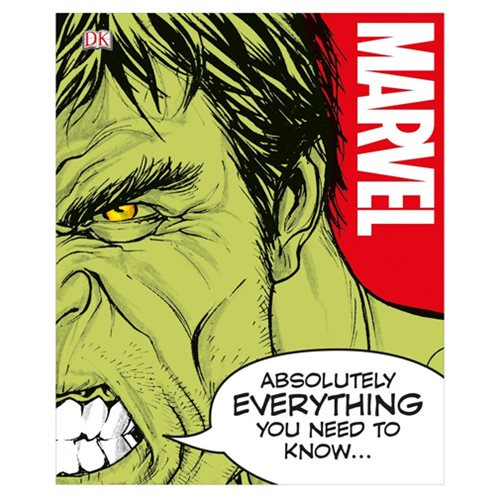 Marvel Absolutely Everything You Need to Know Hardcover Book - Official Dk Publishing :: Mental XS Online