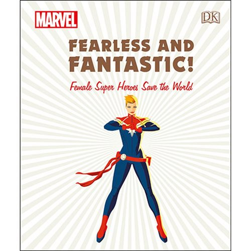Marvel Fearless and Fantastic Female Super Heroes Book - Official Dk Publishing :: Mental XS Online