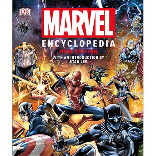 Marvel Encyclopedia New Edition Hardcover Book - Official Dk Publishing :: Mental XS Online