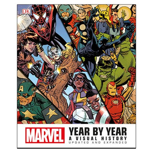 Marvel Year by Year A Visual History Updated & Expanded Book - Official Dk Publishing :: Mental XS Online