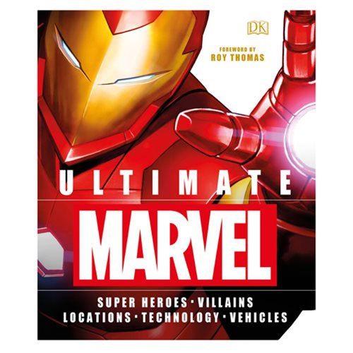 Ultimate Marvel Hardcover Book - Official Dk Publishing :: Mental XS Online
