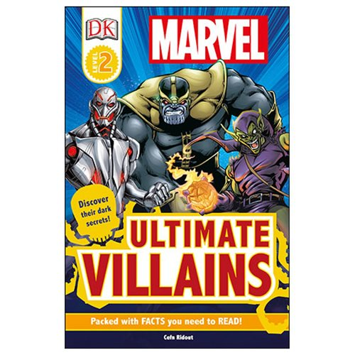 Marvel's Ultimate Villains DK Readers 2 Paperback Book - Official Dk Publishing :: Mental XS Online