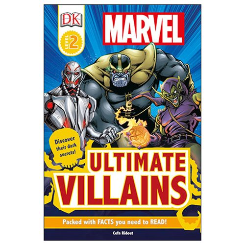 Marvel's Ultimate Villains DK Readers 2 Hardcover Book - Official Dk Publishing :: Mental XS Online