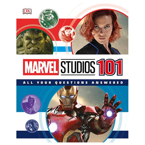 Marvel Studios 101: All Your Questions Answered Book - Official Dk Publishing :: Mental XS Online