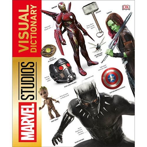 Marvel Studios Visual Dictionary Hardcover Book - Official Dk Publishing :: Mental XS Online