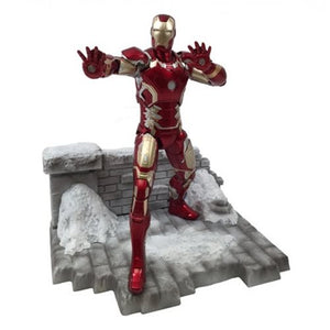 Avengers: Age of Ultron Iron Man Mark 43 Action Hero Vignette 1:9 Scale Pre-Assembled Model Kit - Official Dragon Models :: Mental XS Online