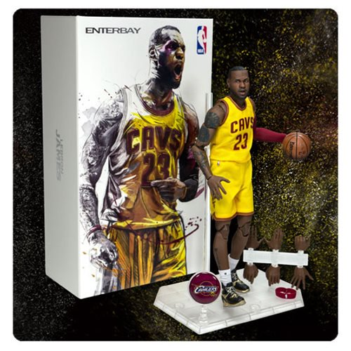 NBA LeBron James Motion Masterpiece 1:9 Scale Figure - Official Enterbay :: Mental XS Online