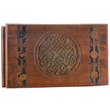 Celtic Knot Wooden Chest 10