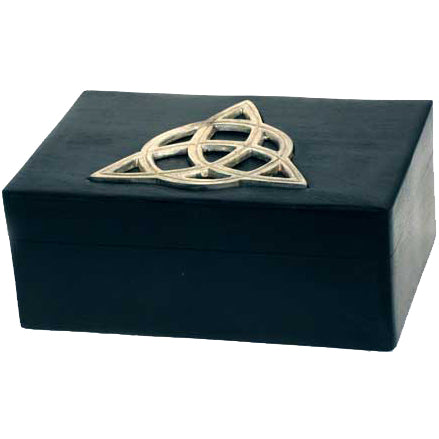 Black Box with Silver Triquetra 6