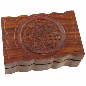 Celtic Tree of Life herb Box 6