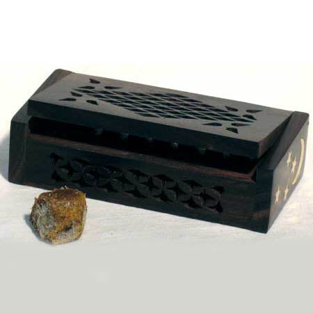 Amber Resin Scented Wooden Box 4