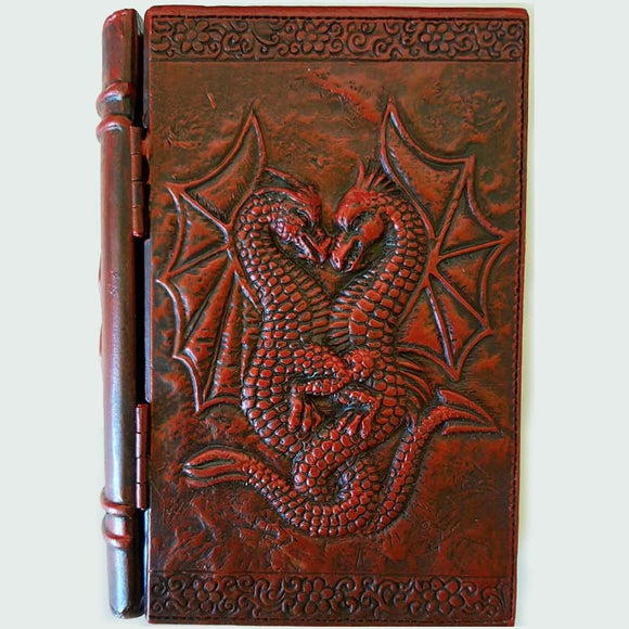Dragon Cold-Cast Resin Book Box 4