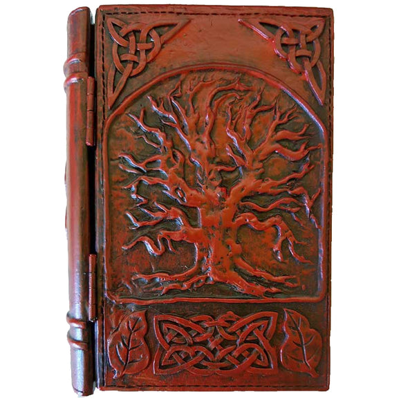 Celtic Tree of Life Cold-Cast Resin Book Box 4