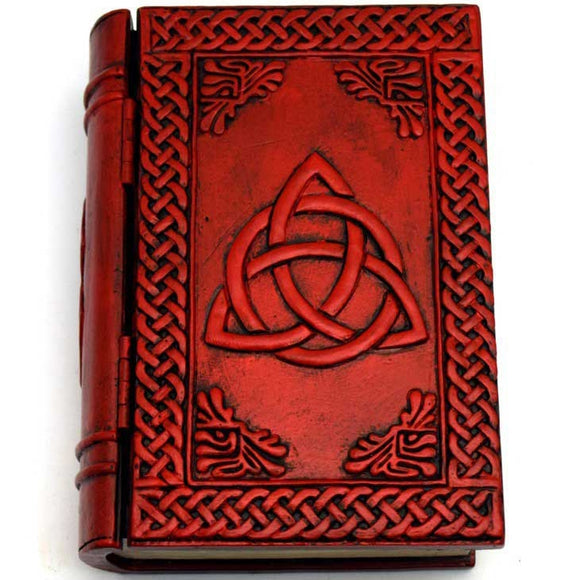 Triquetra Cold-Cast Resin Book Box 4