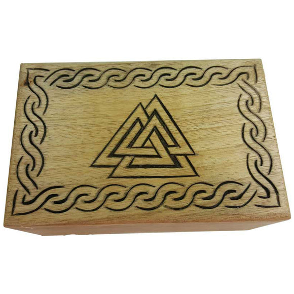 Triangle Wooden Box 6