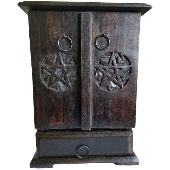Pentacle Wooden Cupboard 10½
