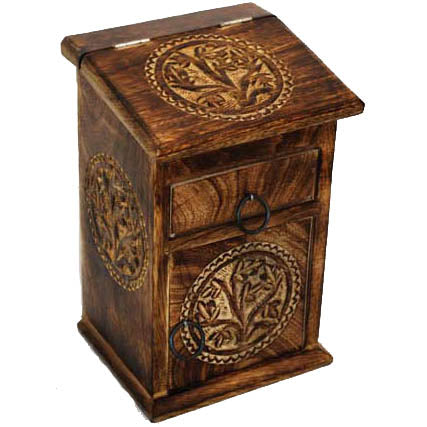 Celtic Tree of Life Herb Cupboard 8