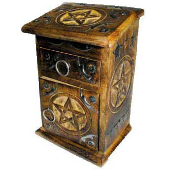 Pentacle Herb Cupboard 8¾