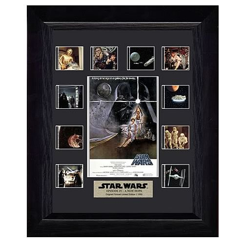 Star Wars Episode IV: A New Hope Mini Film Cell Display - Official Filmcells Ltd Limited Edition 1000 :: Mental XS Online