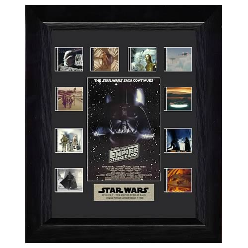 Star Wars Episode V: The Empire Strikes Back Mini Montage Film Cell Display - Official Filmcells Ltd :: Mental XS Online