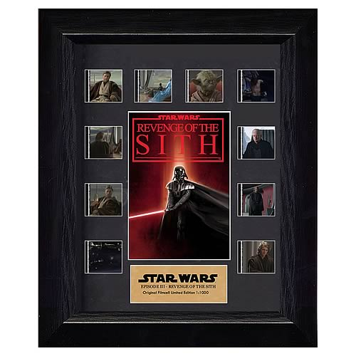 Star Wars Episode III: Revenge of the Sith Mini Film Cell Display - Official Filmcells Ltd Limited Edition 1000 :: Mental XS Online
