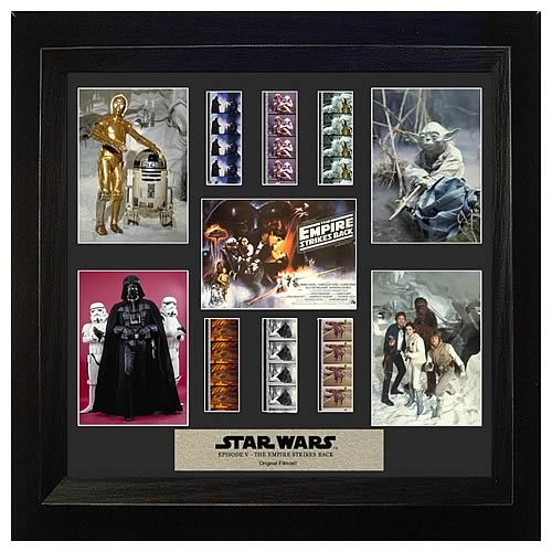 Star Wars Episode V: The Empire Strikes Back Special Edition Montage Film Cell - Official Filmcells Ltd :: Mental XS Online