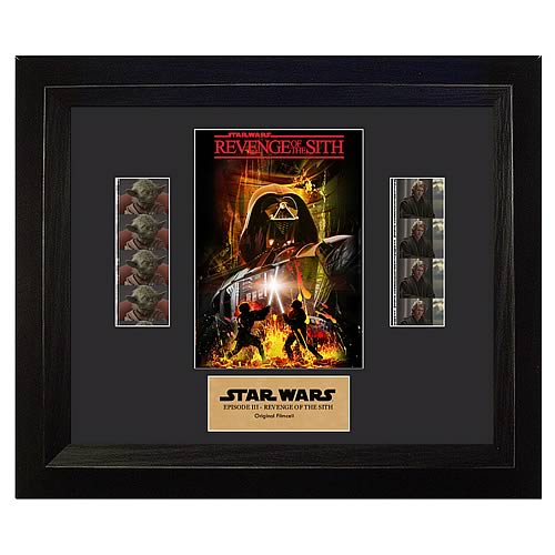 Star Wars Episode III: Revenge of the Sith Film Cell Display - Official Filmcells Ltd Limited Edition 1000 :: Mental XS Online