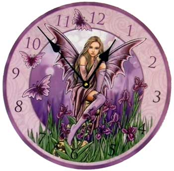 Faerie Clock by Lisa Parker