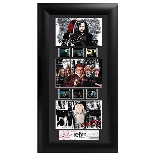 Harry Potter 5: Order of the Phoenix Series 1 Film Cell Display - Official Filmcells Ltd :: Mental XS Online
