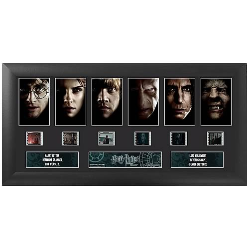 Harry Potter 7: The Deathly Hallows Series 1 Film Cell Display - Official Filmcells Ltd :: Mental XS Online