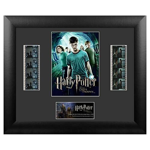 Harry Potter 5: Order of the Phoenix Series 6 Film Cell Display - Official Filmcells Ltd :: Mental XS Online