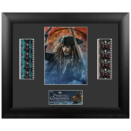 Pirates of the Caribbean 4: On Stranger Tides Series 1 Film Cell Display - Official Filmcells Ltd :: Mental XS Online