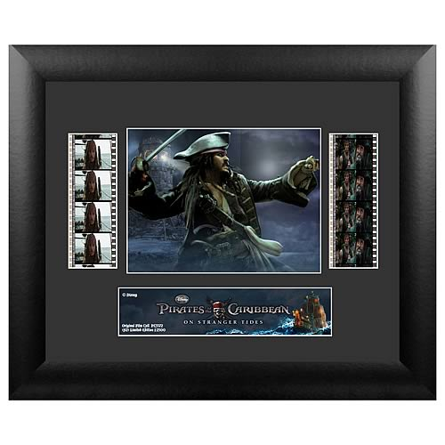 Pirates of the Caribbean 4: On Stranger Tides Series 2 Film Cell Display :: Mental XS Online