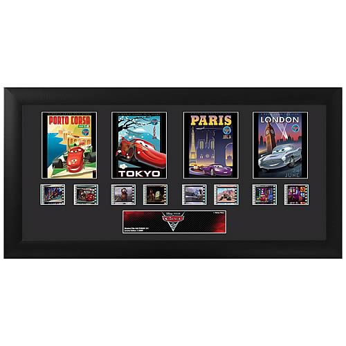 Cars 2 Quad Film Cell Ltd Ed Display :: Mental XS Online
