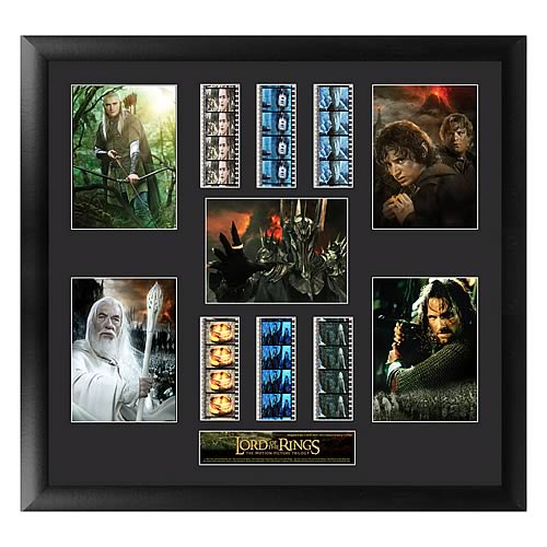 Lord of the Rings Trilogy Series 3 Film Cell Display - Official Filmcells Ltd Limited Edition 2500 :: Mental XS Online
