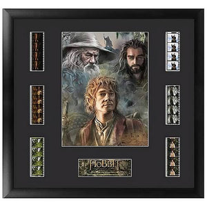 The Hobbit: An Unexpected Journey Series 1 Film Cell Display - Official Filmcells Ltd Limited Edition 2500 :: Mental XS Online
